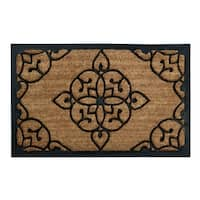 Iron Gate Design Coir Mat