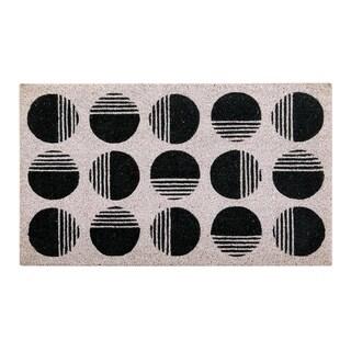 Art Deco Coir Mat