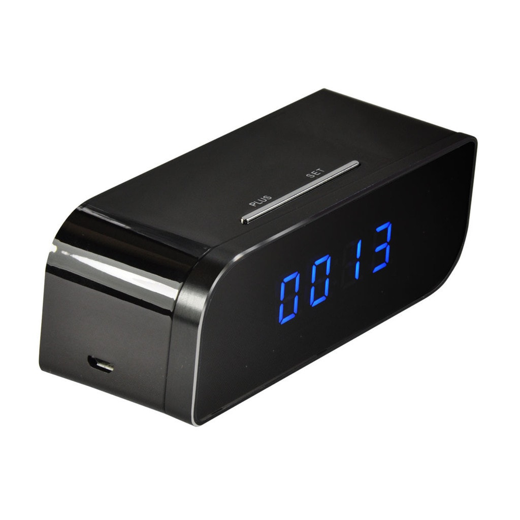 iPM Wifi-enabled Battery-powered Desk Clock With 720p Hid...