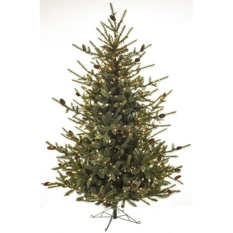 "Lighted Pine Tree - 40""l x 40""w x 4'h"