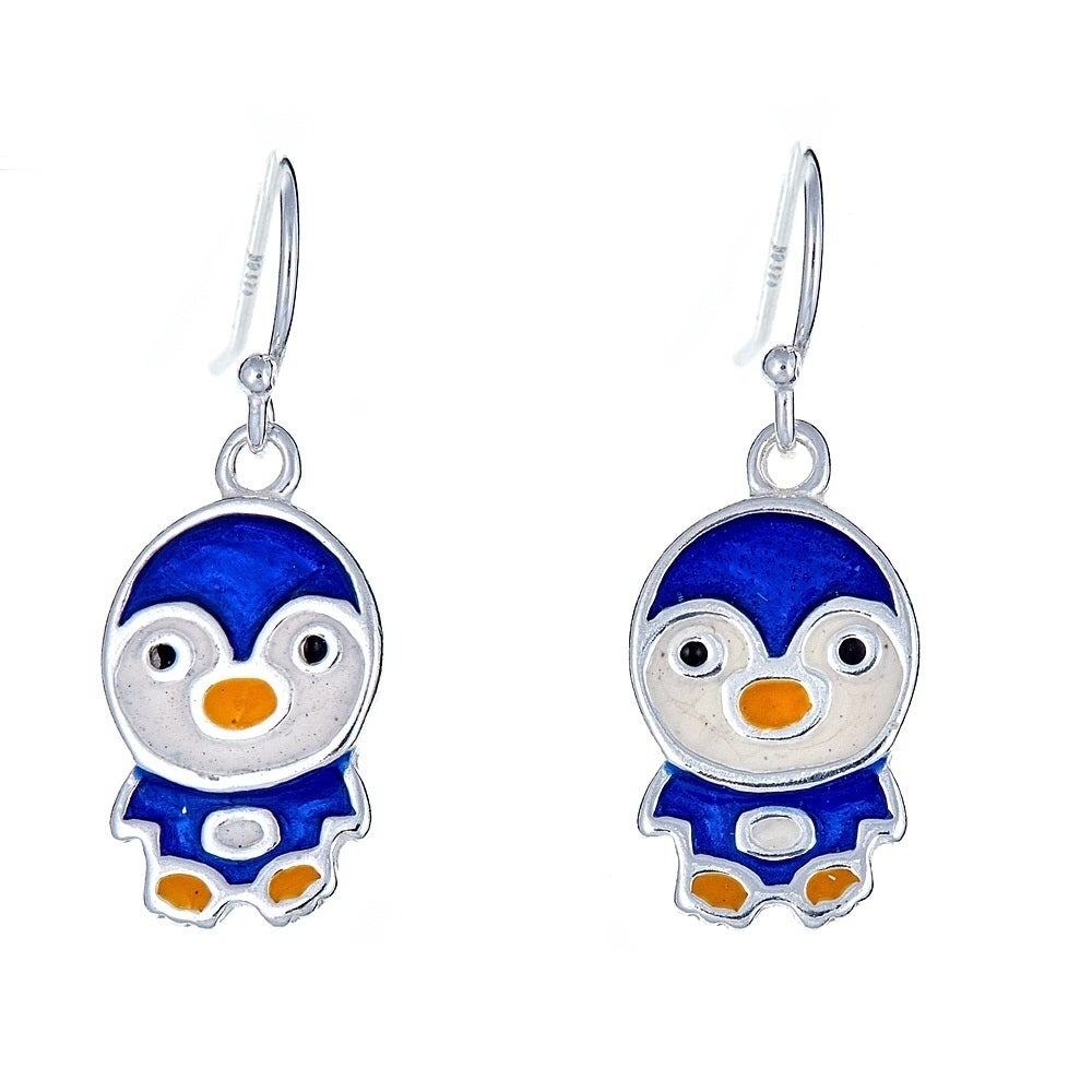 Best Designer Jewelry Sterling Silver Enameled Post Earrings