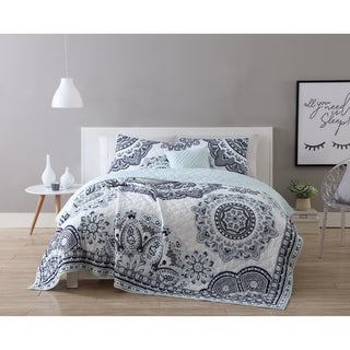 VCNY Home Kaya 4-piece Reversible Quilt Set