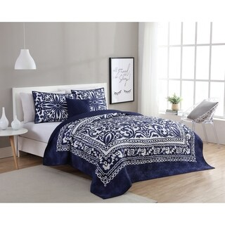 VCNY Home Eleanor 4-piece Quilt Set (2 options available)