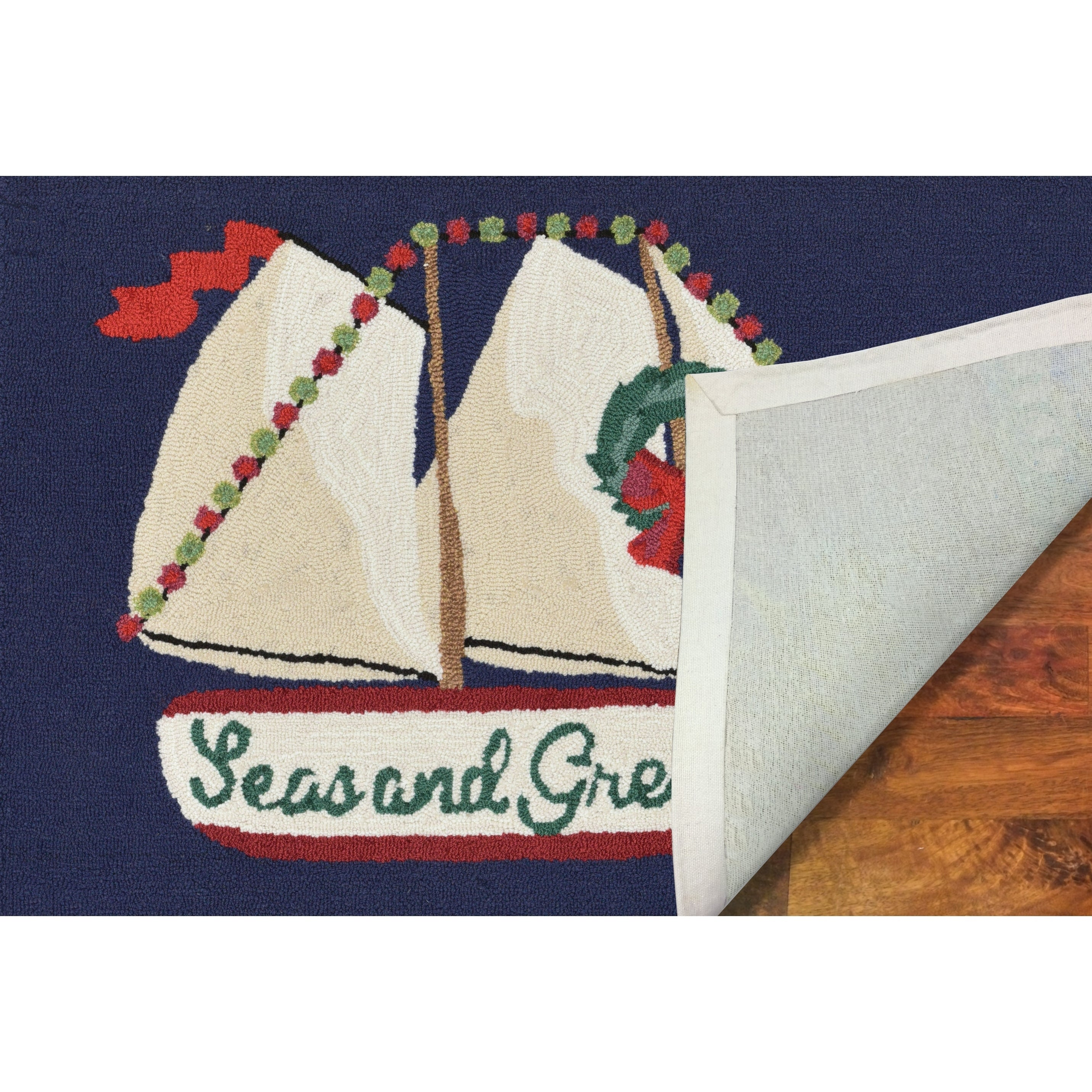 Liora Manne Holiday Sailing Outdoor Rug 2 X 3 2 X 3