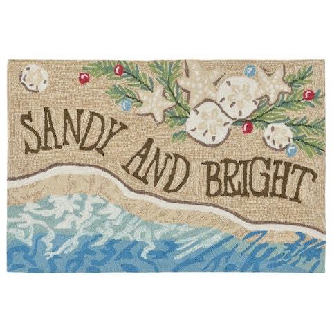 Liora Manne Frontporch Sandy & Bright Indoor/Outdoor Mat