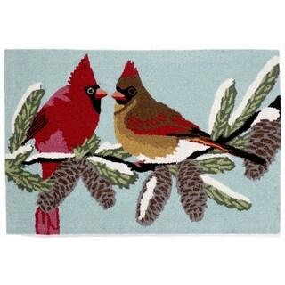 Winter Birds Outdoor Rug - 2'6 x 4'