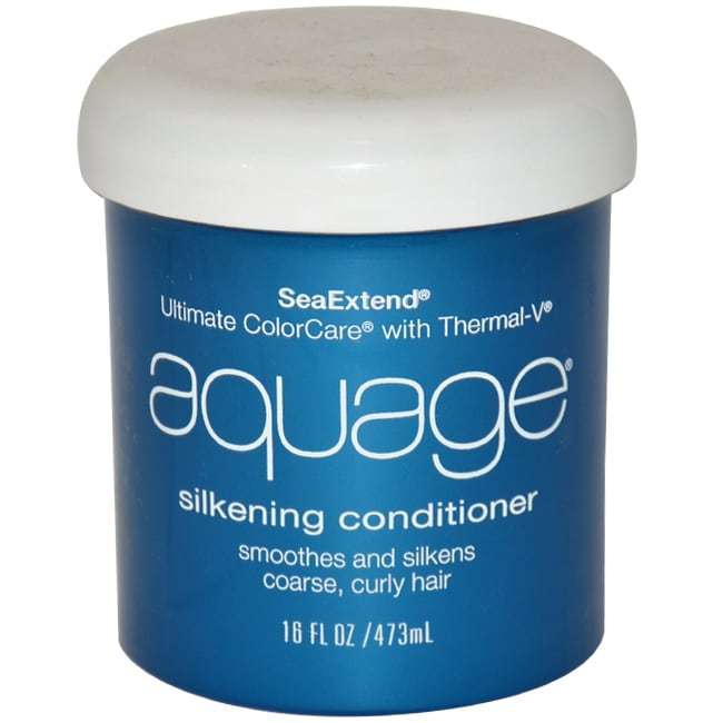 AQUAGE Sea (Blue) Extend 16-ounce Silkening Conditioner, ...