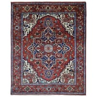 FineRugCollection Hand Made Mahal Oriental Rug (7'11 x 9'9)