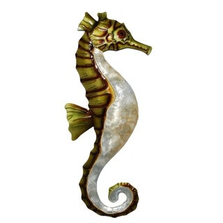 Handmade Green and Pearl Seahorse (Philippines)