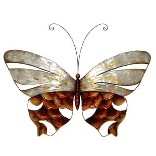 Wall Butterfly With Pearl And Copper Scaling|https://ak1.ostkcdn.com/images/products/18801967/P24869783.jpg?impolicy=medium