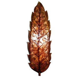 Wall Leaf Large (Option: Brown)