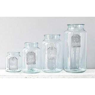 10L Mason Jar Clear