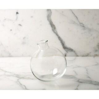 """Sphere Vase, 5"""", Clear"""