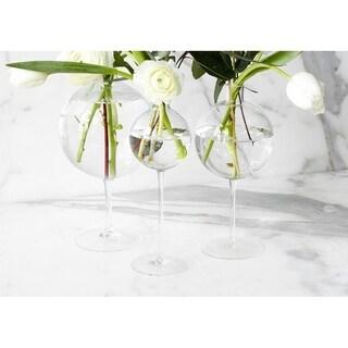 Wine Glass Vase, Medium