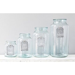 20L Mason Jar Clear