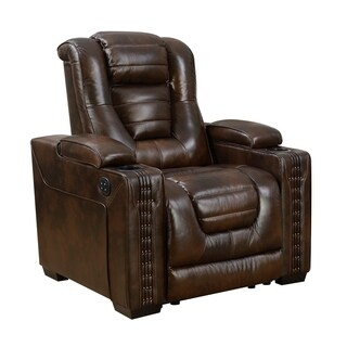 Bowman Leather Recliner Chair With Articulating Headrest