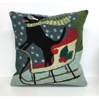 Sledding Dog Multi Pillow