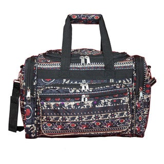 World Traveler Elephant 16-Inch Lightweight Carry-On Duffle Bag