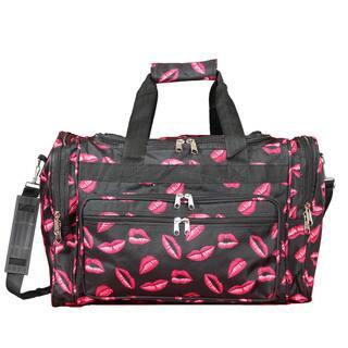 e08f53d2d700 World Traveler Hot Lips 16-Inch Lightweight Carry-On Duffle Bag