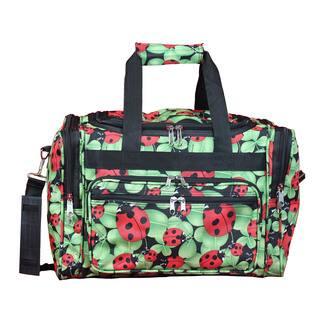 15bf29a867dd World Traveler Lady Bug 16-Inch Lightweight Carry-On Duffle Bag