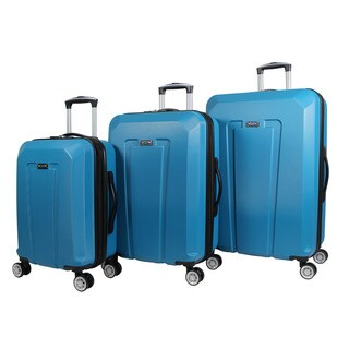 World Traveler Scout 3-piece Hardside Lightweight Spinner Rolling Luggage Set