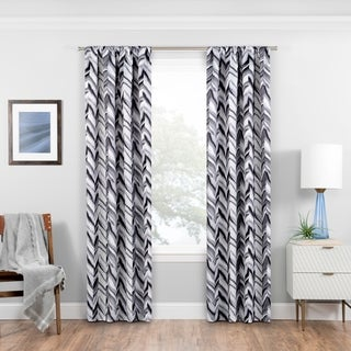 Eclipse Haley Blackout Window Curtain - N/A