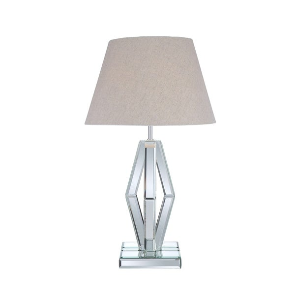 ACME Brook Mirrored and Chrome Table Lamp