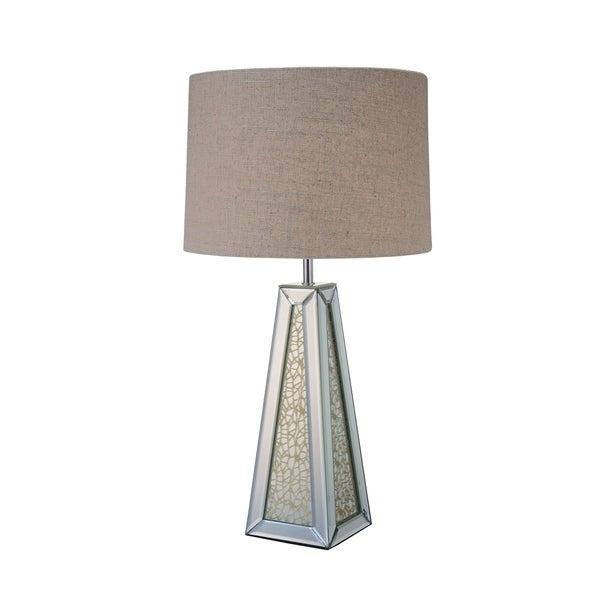 ACME Britt Mirrored and Chrome Table Lamp