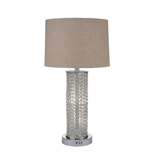 ACME Amity Chrome Table Lamp