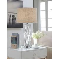 ACME Amity Chrome Table Lamp