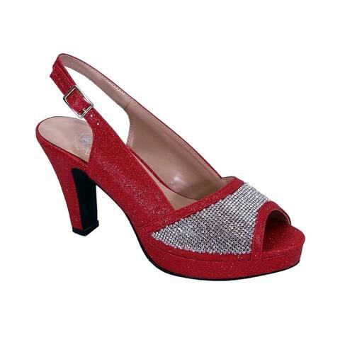 fd8f1ff8f6 Buy Red Women's Heels Online at Overstock | Our Best Women's Shoes Deals