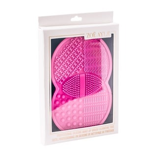 Professional Silicone Make-Up Brush Cleansing Tool - Pink