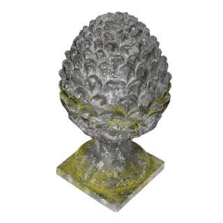 Ever Aged Slate Gray Outdoor Finial