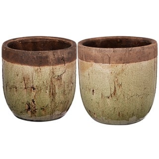 Set of two planters