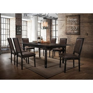 Best Master Furniture Antique Black 5 Pcs Dining Set
