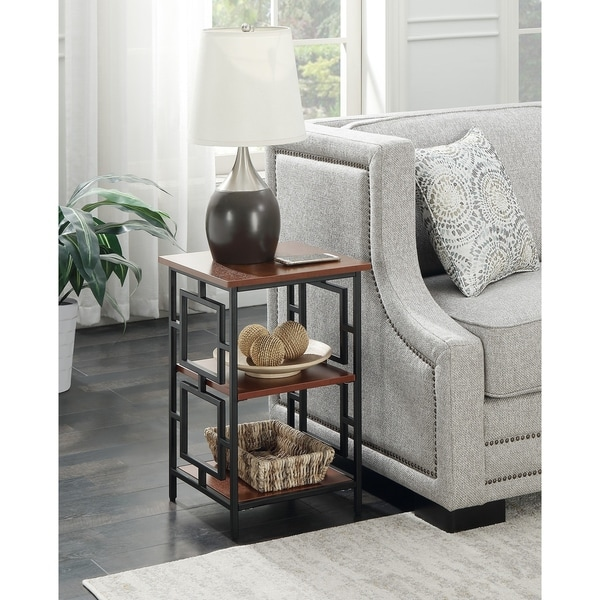 Convenience Concepts Town Square Metal End Table