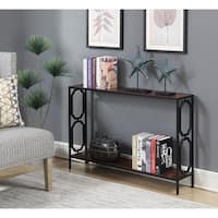 Convenience Concepts Omega Metal Console Table
