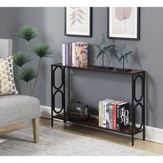 Copper Grove Hitchie Metal Console Table