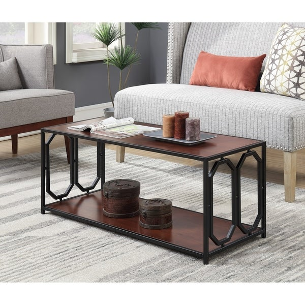 Copper Grove Hitchie Metal Coffee Table