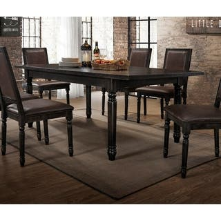 Best Master Furniture Antique Black Rectangular Dining Table|https://ak1.ostkcdn.com/images/products/18804394/P24871949.jpg?impolicy=medium