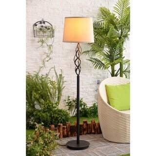 Pine Canopy Deschutes Bronze 59-inch Outdoor Floor Lamp