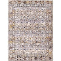 Hancock Blue/Multi Area Rug - multi-color - 7'10 x 10'10