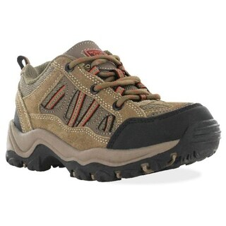 Nord Trail Men's Mt Hunter II Low Top Hiker Shoes Taupe Orange
