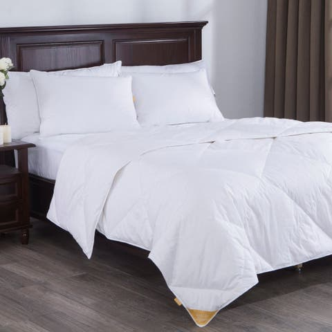St. James Home Lightweight White Goose Down Blend Comforter