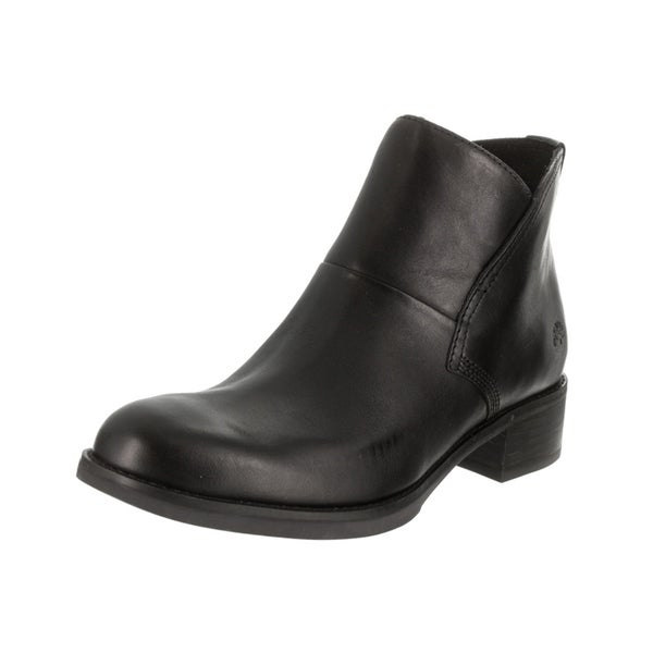 Shop Timberland Women S Beckwith Chelsea Black Leather