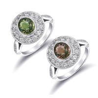 """Platinum 2.78ct TGW  Alexandrite and White Diamond One-of-a-Kind Ring"""""""