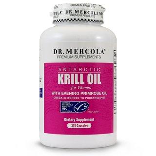 Dr. Mercola Women's Krill Oil with Evening Primrose Oil (270 Capsules)