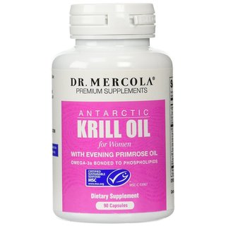 Dr. Mercola Women's Krill Oil with Evening Primrose Oil (90 Capsules)