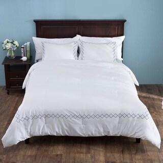 St. James Home 3 Piece Down Alternative Comforter Set with Pillow Shams