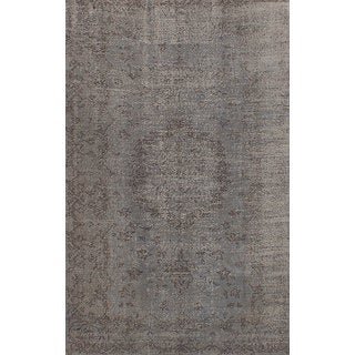 eCarpetGallery Hand-Knotted Color Transition Grey Wool Rug (5'5 x 8'8)